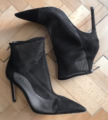ZARA Mesh Boots