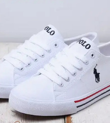 Polo Ralph Lauren-white trainers REZZZ.