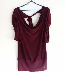 Свечена блуза со гол грб