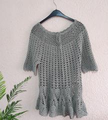 Рачно плетена блуза