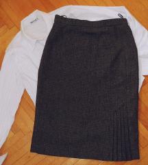Zimska suknja + gratis ZARA suknja vel S/M