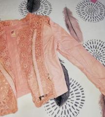 Јакна розева