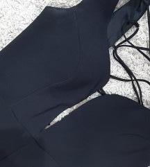 Црн долг фустан ♣️ *1000
