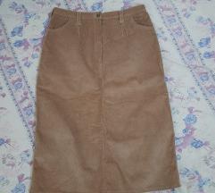 Somot kako nova suknja odgovara za L