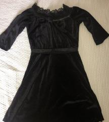Bershka плишан фустан