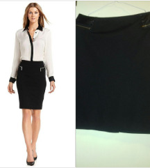 Crna suknja za pokrupni dami