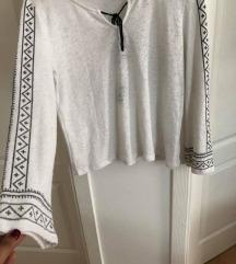 Pamucna bluza bela