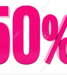 50 % popust na fustani do vtornik