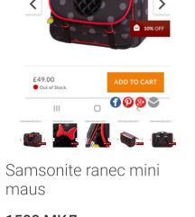 Samsonite ranec mini maus