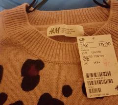 Nov H&M dzemper 14g/ 170 golemina