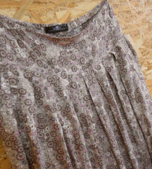 Pastelna midi suknja