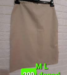 Novi suknji M i L velicini