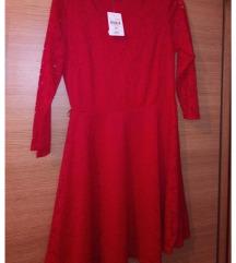 novo crveno fustance