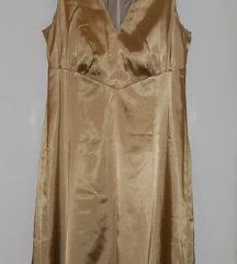 Zlaten fustan vel 44  -500 den