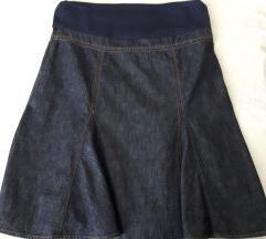 Nova trudnicka teksas suknja