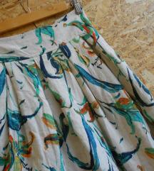 NOVO Krem  suknja S