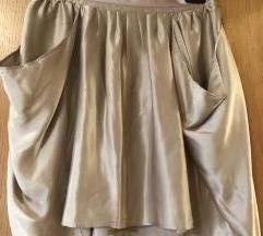 Svilena Suknja Massimo Dutti