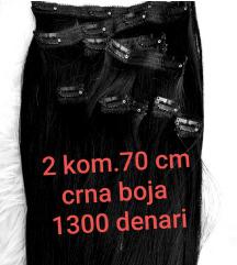 Hair Extension crna boja