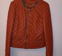 Elegantna kozna jakna