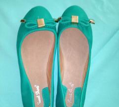 Зелени балетанки