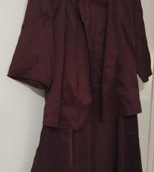 PAPILON  Palto i suknja vel M *** 250den