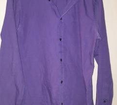 Виолетова кошула машка