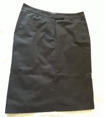 Црна тексас сукња