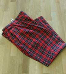 Karirani pantaloni