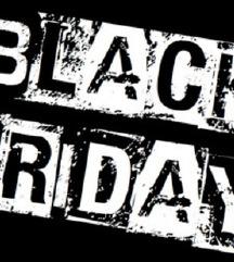 Black Friday od Denes do nedela 20 %na site ukrasi