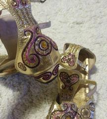 sandali orginal zlatni
