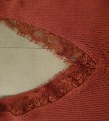 Блуза на прерамки