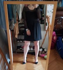 Црно софистицирано фустанче