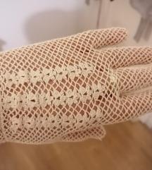 Памучни чипкасти ракавици од Малта