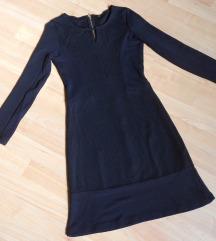 NOVO Crn elasicen fustan