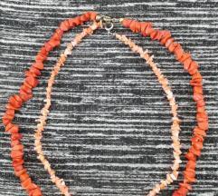 *1000*Dve koralni ogrlici od org.korali %popust%