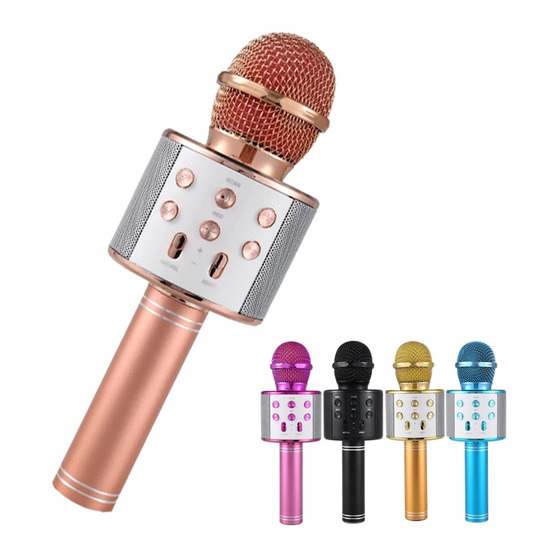 Usb/bluetooth microphone