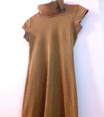 houndstooth фустан