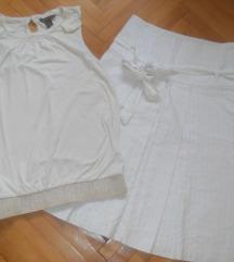 %%-ZARA Suknja +Mango Bluza vel S-400 den