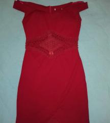 Краток црвен фустан ⬇⬇⬇