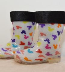 Гумени чизми со волна за девојчиња