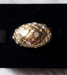 DYRBERGKERN  прстен со swarovski кристали