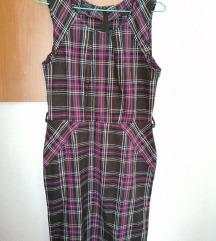 Pavia - кариран фустан