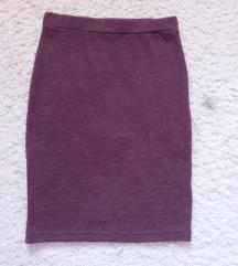Бордо сукња