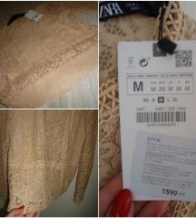 Zara nova chipkana bluza (so etiketa)