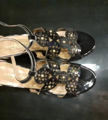 Kozna brend lakovana sandala