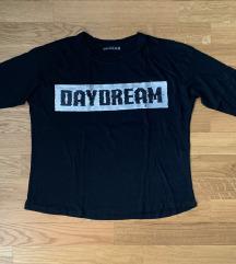 3/4 маица од BERSHKA - црна