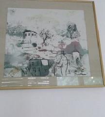 umetnicka slika orginal  nam 350