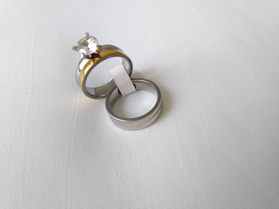 Dupli prsten od med.celik