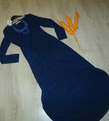 Nov teget (dolgo/kratok) fustan so etiketa