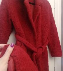 KOTON црвен Wool Mix капут